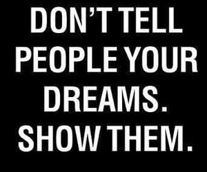 Dream, quote, and people image
