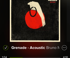 acoustic, music, and Grenade image