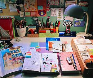 artist, creative, and interior image