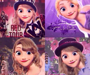 rapunzel and Taylor Swift image