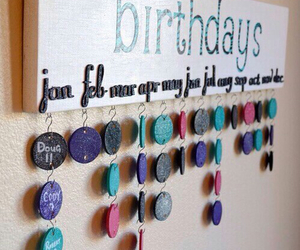 birthday, diy, and ideas image