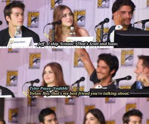 ship, tyler posey, and dylan o´brien image