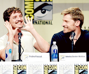 pedro pascal, game of thrones, and got image