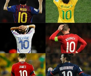 10, rooney, and messi image