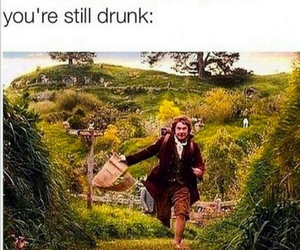 funny, adventure, and drunk image