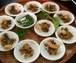 vietnamese food, banh beo, and hue cuisine image