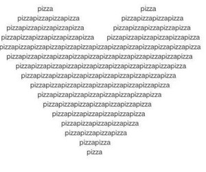 eat, pizza, and mylove image