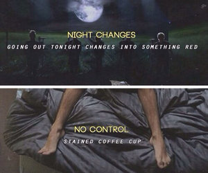 one direction, no control, and night changes image