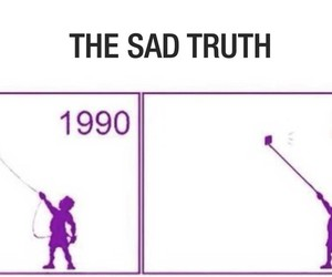 sad, truth, and kite image