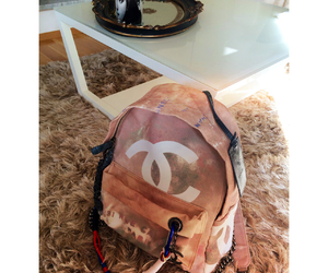 backpack, chanel, and luxury image