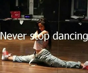dance, dancing, and never image
