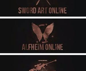sword art online, sao, and alfheim online image