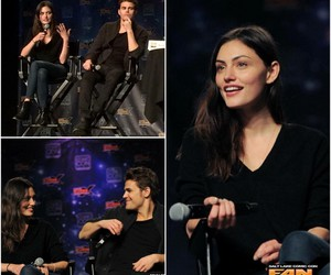 The Originals, paul wesley, and phoebe tonkin image