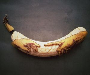 banana and art image