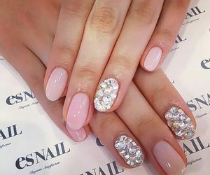 gem, manicure, and nails image