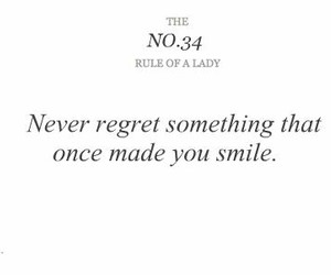 quote, rules, and lady image