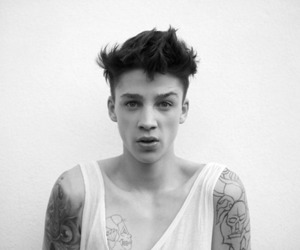 boy, tattoo, and Ash Stymest image