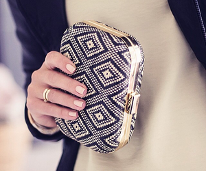clutch, elegant, and jewellry image