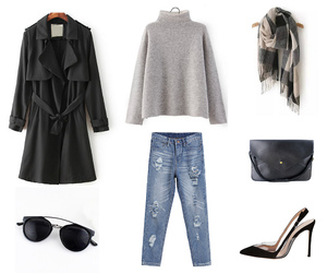 accessories, combine, and highheels image