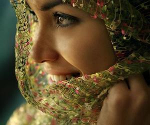 woman, hijab, and islam image