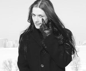 black and long-hair man image