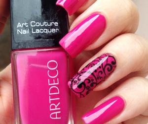 artdeco, esmalte, and girl image