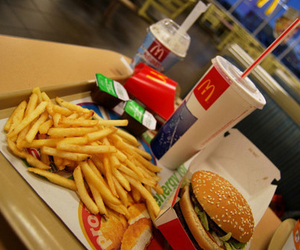 food, McDonalds, and delicious image