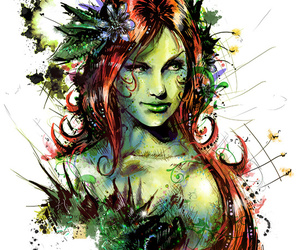 ivy, comics, and poison ivy image