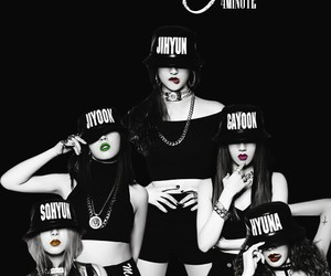 4minute, jiyoon, and hyuna image