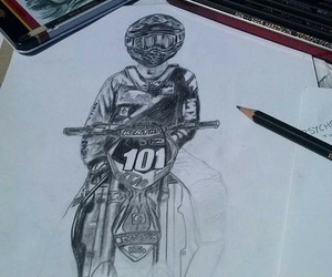 101, motocross, and draw image