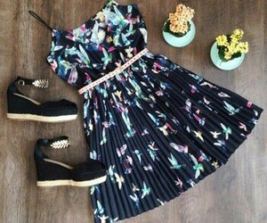 dress, beautiful, and clothing image