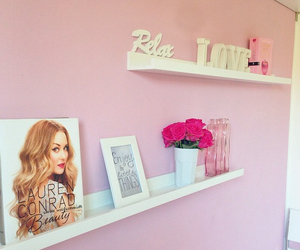 pink, relax, and room image