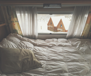 bed, bedroom, and camping image