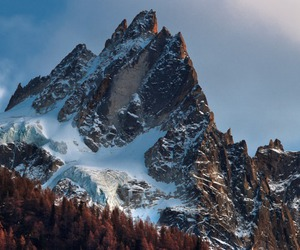 fall, mountains, and nature image