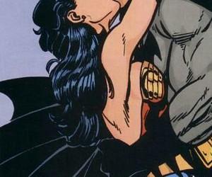 batman, wonderwoman, and girls image