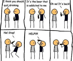 funny, beer, and lol image