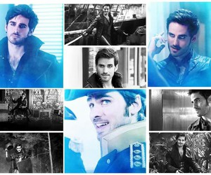 handsome, once upon a time, and captain hook image