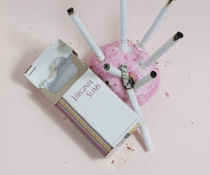 cigarette and pink image
