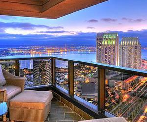 city, luxury, and light image
