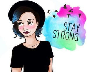 demi, lovato, and staystrong image