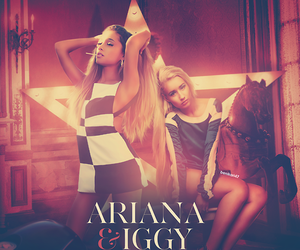 ariana grande, problem, and iggy azalea image