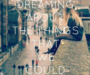 Dream, counting stars, and quote image