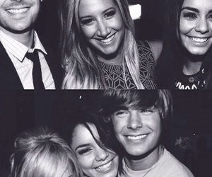 high school musical, zac efron, and friendship image