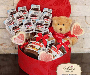 gift, nutella, and love image