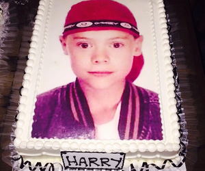 Harry Styles, cake, and one direction image