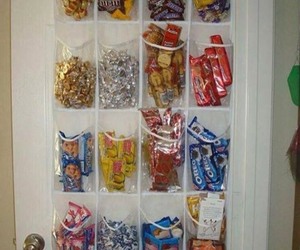 food, room, and candy image