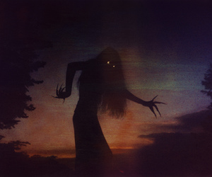 dark, creepy, and witch image