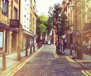 autumn, covent garden, and london image