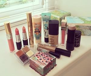make up, makeup, and nars image