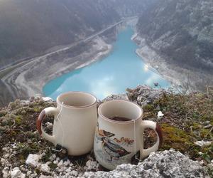 landscape, nature, and tea image